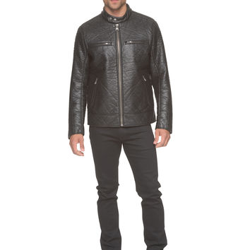 Marc New York - Gramercy - Faux Leather Moto Jacket