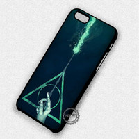 Harry Potter Deathly Hallows Magic Wand - iPhone 7 6 5 SE Cases & Covers
