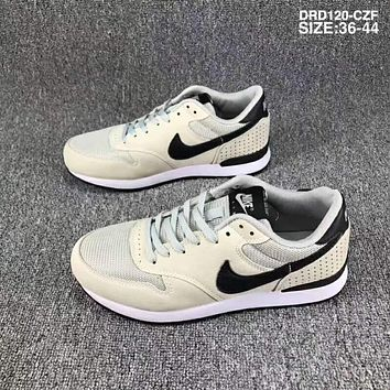 Nike Wmns & Internationalist Waffle series breathable mesh sneakers F-SSRS-CJZX Beige + gray
