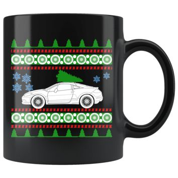 2012 4th Generation Mitsubishi Eclipse Ugly Christmas Sweater Mug