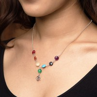 Om Chakra Gemstone  Necklace
