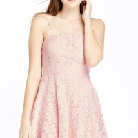 Ooh La La Lace Fit and Flare Dress