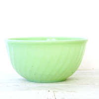 Fire King Jadeite Swirl Mixing Bowl