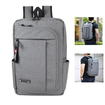 Oxford Water-resistant 17 Inch Casual Backpack For Men