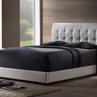 1283-lusso-queen-bed-set-w-rails - Free Shipping!