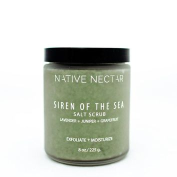 Native Nectar Botanicals - Siren of the Sea Salt Scrub 225g