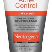 Neutrogena Allin1 Acne Control Daily Scrub, 4.2 Ounce (Pack of 2)