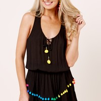 YFB On The Road Darleen Black Dress