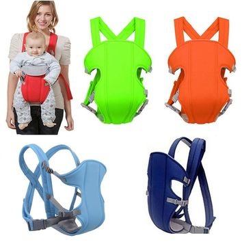 New Comfort Baby Carriers Breathable Multifunctional Front Facing Infant Comfortable Sling Backpack Pouch Wrap Baby Kangroo Belt
