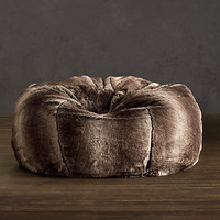 Luxe Faux Fur Bean Bags | Restoration Hardware