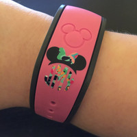 Lilly Pulitzer Inspired Disney Inspired Monograms | Mickey Monogram | Mickey Minnie Hat Monograms | Disney Hat Monograms | Magic Band Decals