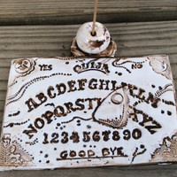 Ouija  Incense Holder, Incense Burner, Cult, Magic, Wiccan
