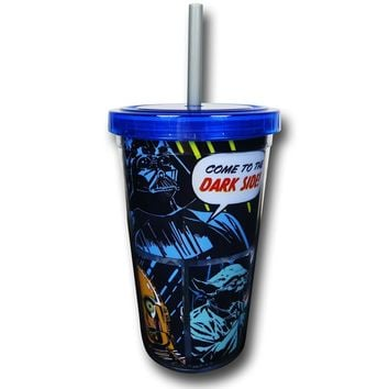 Star Wars Comic Cold Cup w/ Lid