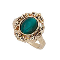 Emerald Stone Ring - Jewelry  - Bags & Accessories