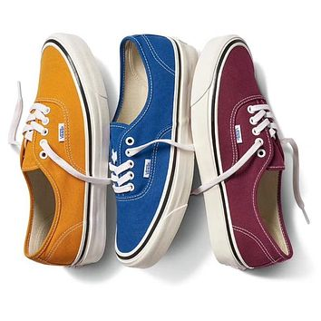 Three Color VANS Purple Deck shoes Women Shoes More Color B-CSXY