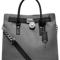 MICHAEL Michael Kors Handbag, Hamilton Saffiano Leather Tote - All Handbags - Handbags & Accessories - Macy's