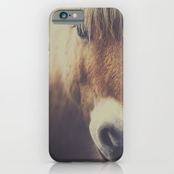 The curious girl iPhone & iPod Case by HappyMelvin | Society6