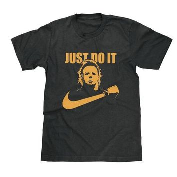 Just Do It Halloween Michael Myers Shirt Available in Adult & Youth Sizes