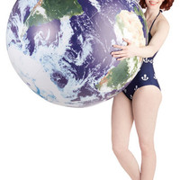 ModCloth Nifty Nerd Celestial Perspective Inflatable Globe