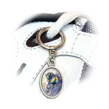 Horse Running Painting Shoe Charm - No. 2