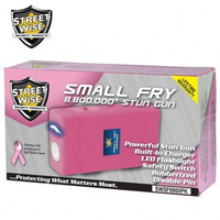 Small Fry 8,800,000* Stun Gun Flashlight Pink