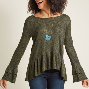 Noticeably Noble Knit Top