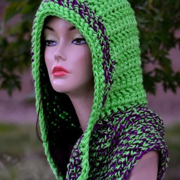 Crochet Hoodie Girls Crochet Scoodie From Africancrab Knits