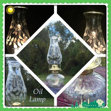 Deer Oil Lamp