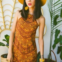 Cisco mini dress in amber