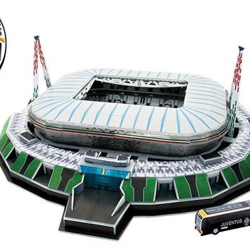 Juventus allianz stadium 3d puzzle