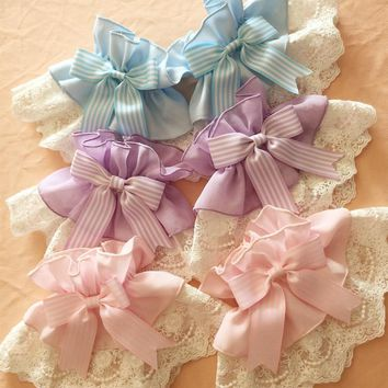 New Spring/Summer Meow Series Lolita Lace Over-sleeves and Hair Accessories