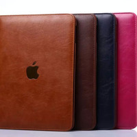 "Multifunctional Stand Slim Leather Case for Apple iPad Mini 4 1 2 3 iPad 2 3 4 iPad Pro 9.7"" iPad air 2"