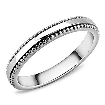 A Stainless Steel Wedding Band