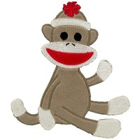 Brown Plush Sock Monkey Fabric Iron-on | Shop Hobby Lobby