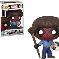 Deadpool Bob Ross Funko Pop! Marvel Deadpool Playtime