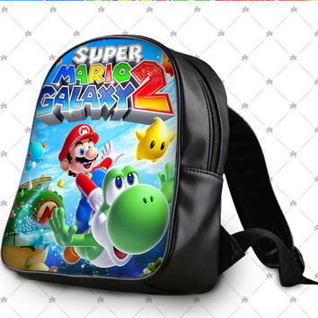 Super Mario Galaxy School Bag