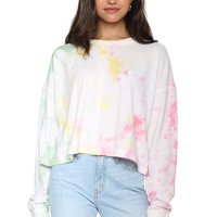 Gab & Kate Just Beachy Tie Dye Sweatshirt