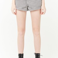 Gingham Cuffed Shorts