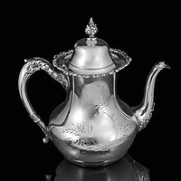 Silver Plated Teapot Victory Silver Co.