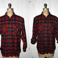 Pendelton Men's Plaid Flannel Shirt