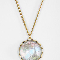 Urban Outfitters - Crystal Ball Necklace