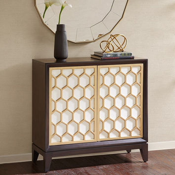 Honeycomb Accent Cabinet by Madison Park