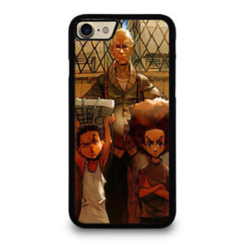 Special Boondocks Comic Tough Love Hard Case For iPhone 6 6s 7 8 Plus X Cover +