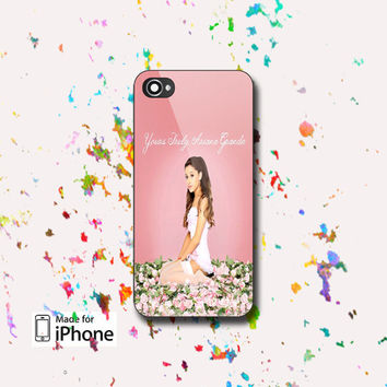 Ariana Grande Yours Truly - Photo on Hard case, for iPhone and Samsung Galaxy. Choose the option for device and colour case