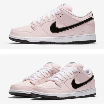"Nike SB Dunk Low Elite ""Pink Box"" 833474-601 Size 36---45"