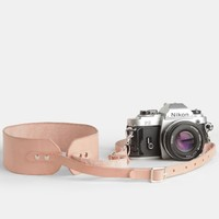 Dark Room Leather Camera Strap