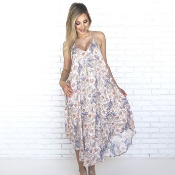 Let It Be Floral Maxi Dress