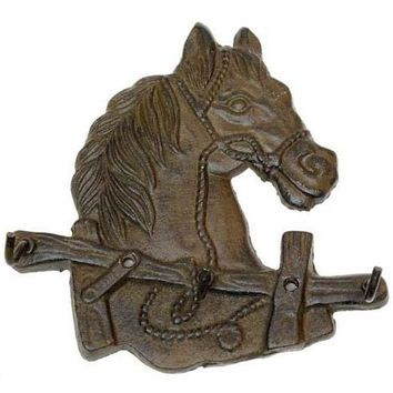 Cast Iron Horse Head Hooks