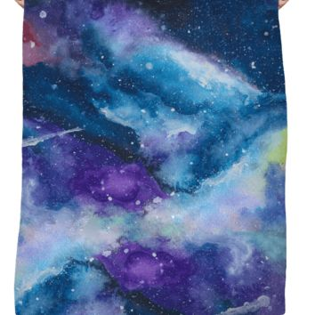 Painted Galaxy Blanket