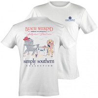 Simply Southern License Beach T Shirt - Small